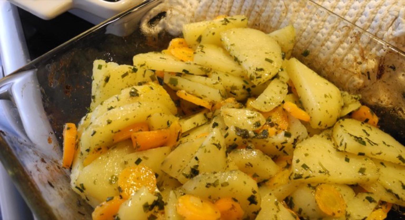potatis morot i ugn