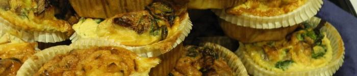 Omelettmuffins med spenat och feta