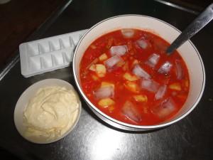 isad grönsakssoppa