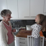 mamma Freja lagar mat