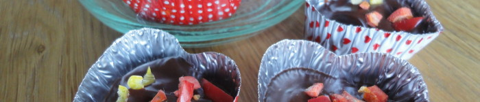 Chokladtryffel med nypon och chili