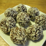 havrebollar chokladbollar
