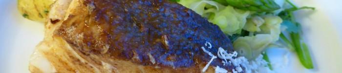 Torskrygg och färskpotatis med smör och dill