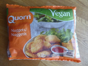Quorn nuggets vegan