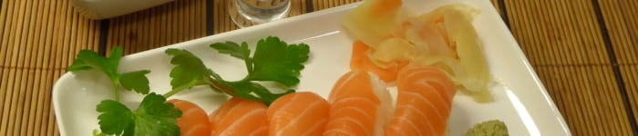 Gari, inlagd ingefära till sushi