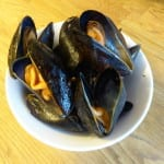 paella musslor