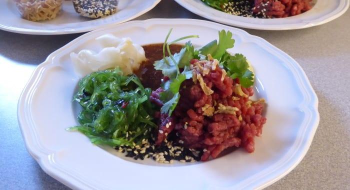 koreansk råbiff recept