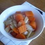 slottstek 5 grönsaker