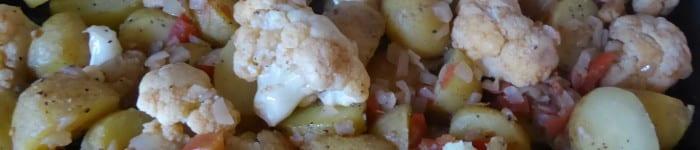 Blomkål med potatis till många