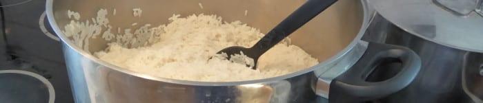 Koka ris till många