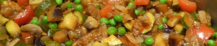 Kryddig grönsakssås till många