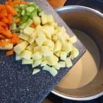 musselsoppa grönsaker