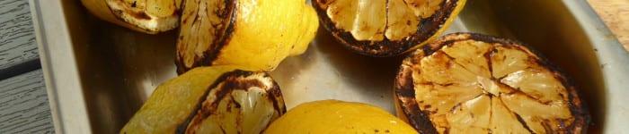 Grillade citronhalvor