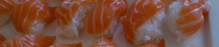 Sushi på lax