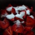 jordgubbskompott making 2