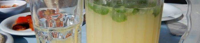 Limonana – israelisk mynta- och citrondryck
