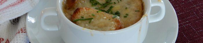 Fransk löksoppa – Gratinerad löksoppa