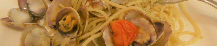 Pasta: Spaghetti alle vongole