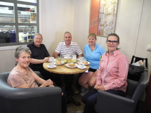 Marie, Dave, Alice, Robert and Gunilla Blixt  Food Tours Stockholm