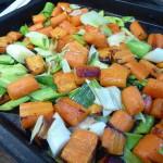 Ugnsrostade morötter making 2