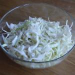 vitkålssallad glasskål